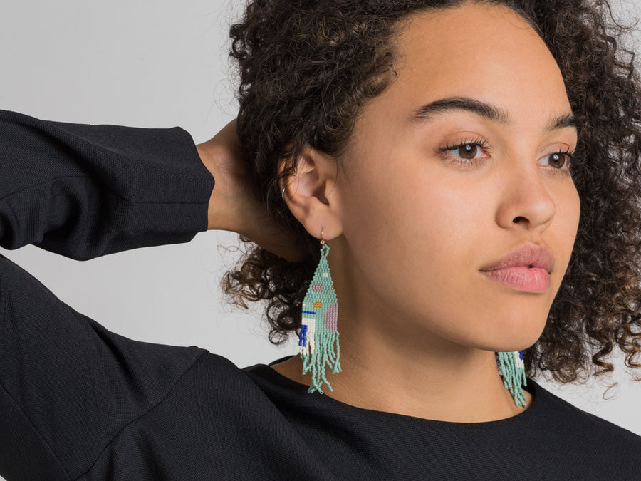 Madiha Earrings // Joia De Vita