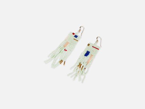 Makini Earrings <br/> FOLKDAYS x Joia De Vita Nº 361
