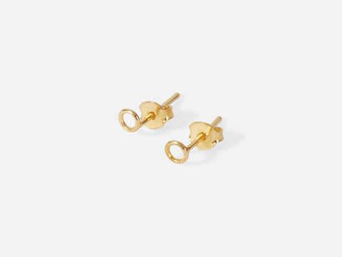 Kamila Earrings // gold <br> FOLKDAYS Nº 275