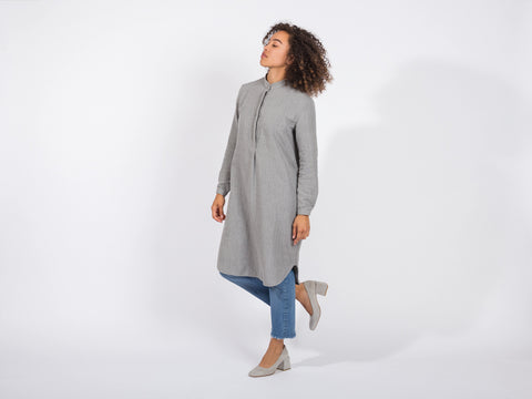 Kiri Dress // grey <br/> FOLKDAYS Nº 266
