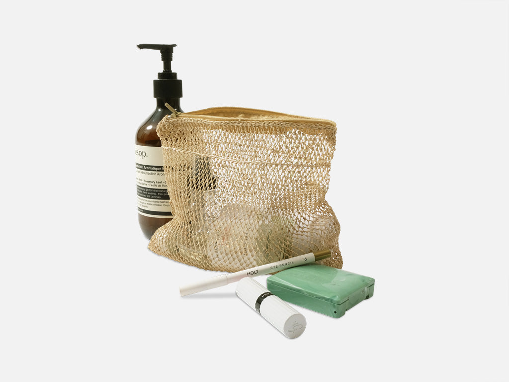 Lear Pouch // natural <br/> FOLKDAYS Nº 28