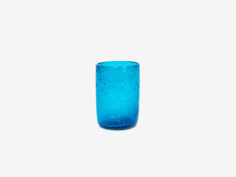 Drinking Glass // Turquoise </br> Small