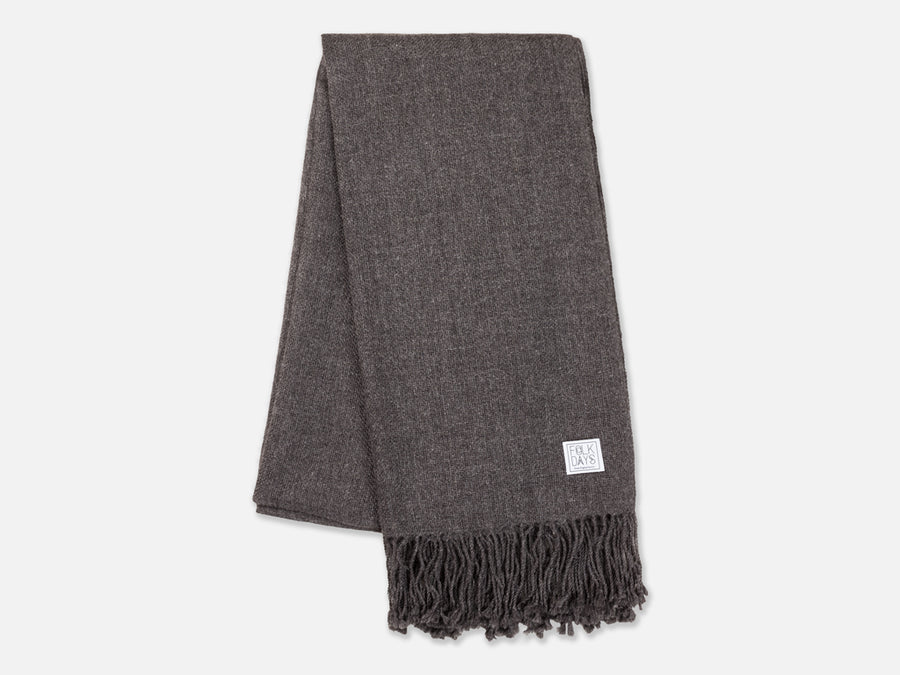 Mayra Scarf // dark grey