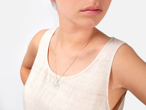 Lisa Necklace // silver <br/> FOLKDAYS Nº 202 - FOLKDAYS  - 2