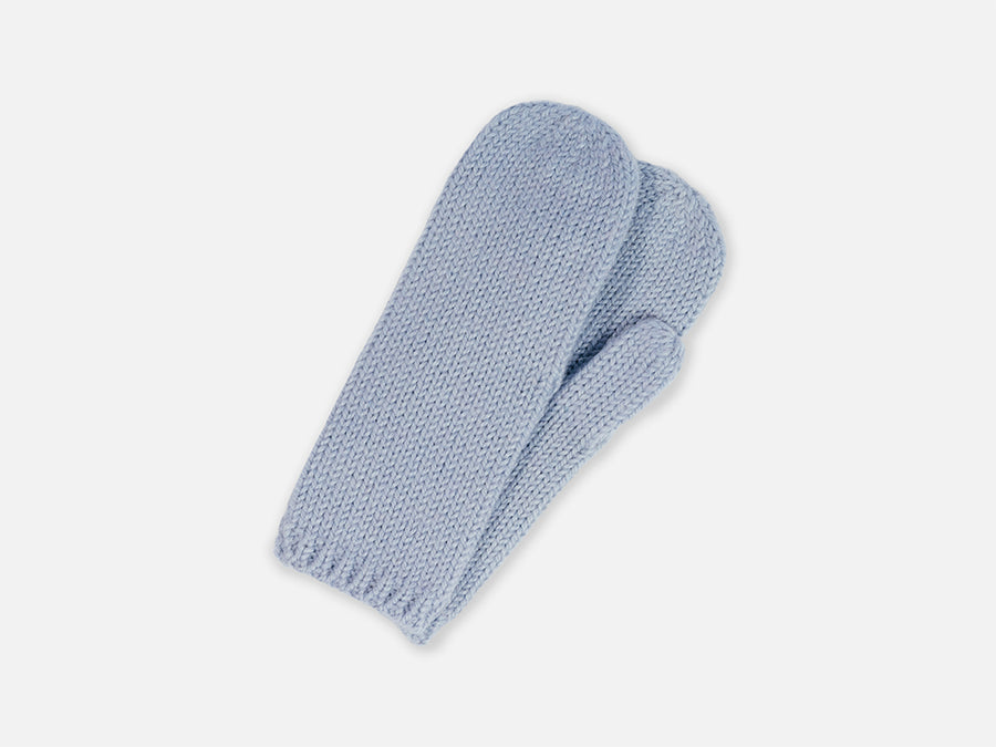 Rina Gloves // light blue <br/> FOLKDAYS Nº 281