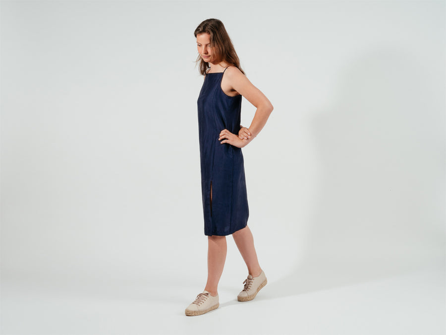 Shannary Dress // blue