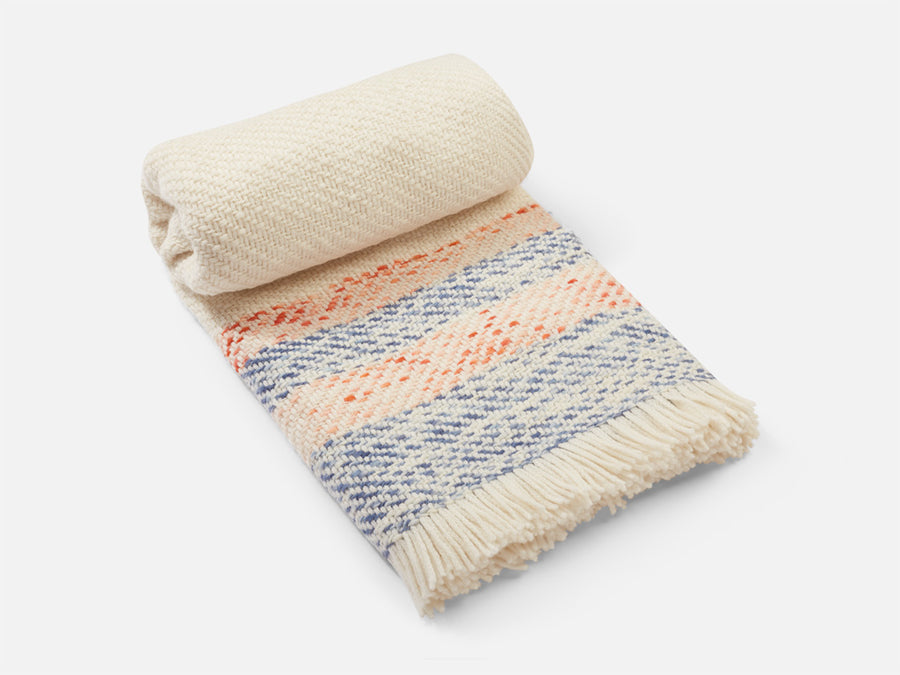 Theresia Blanket with Stripes