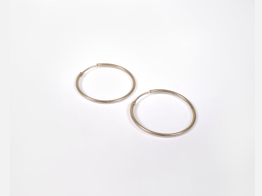Tlalli Earrings // silver <br/> FOLKDAYS N° 197