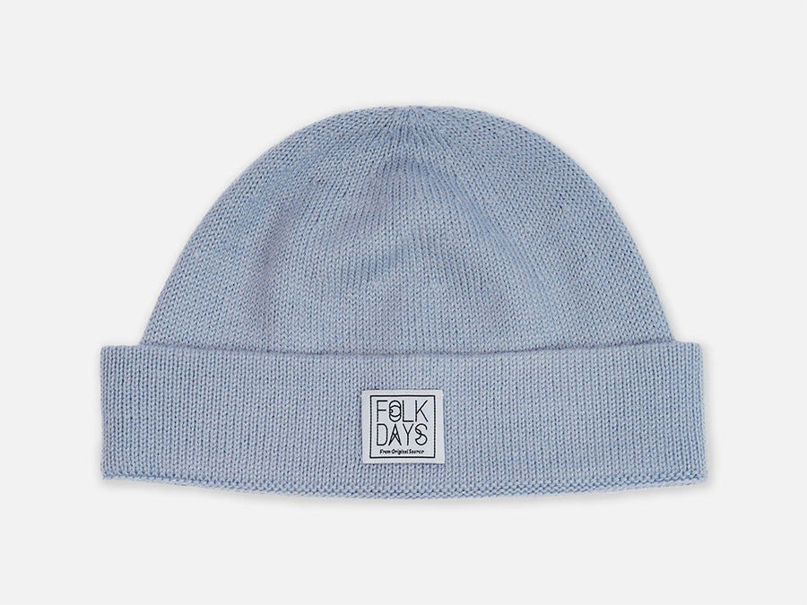 Vania Beanie // light blue <br/> FOLKDAYS Nº 401