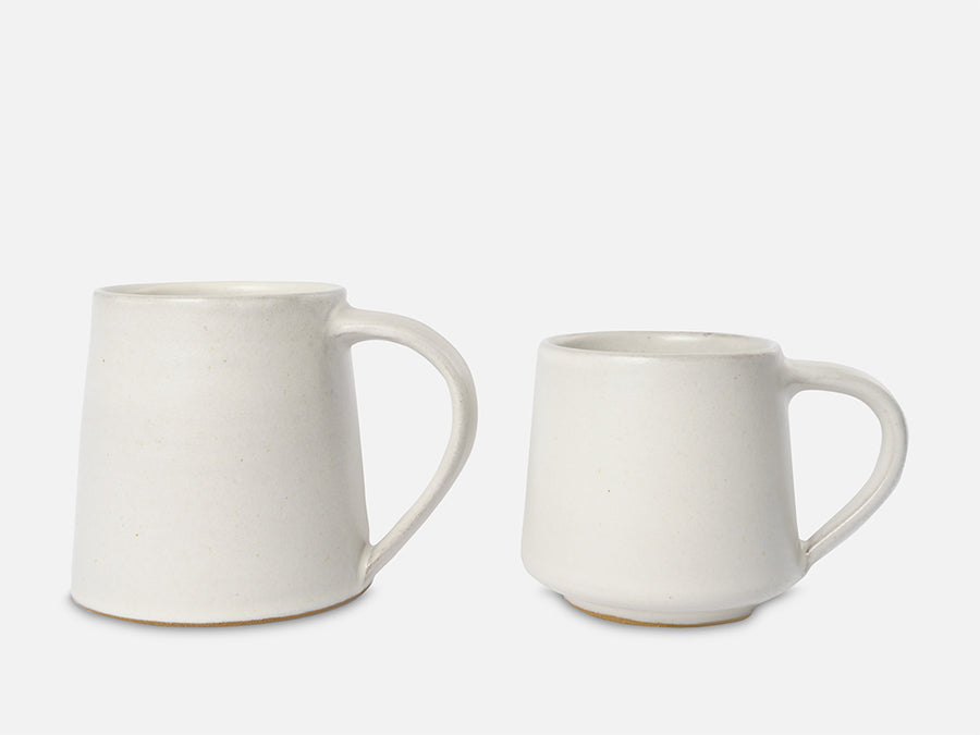 Simple Ceramic Tea Cup // White </br>Big
