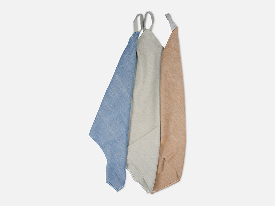 Mottled Tea Towel // Blue-Grey