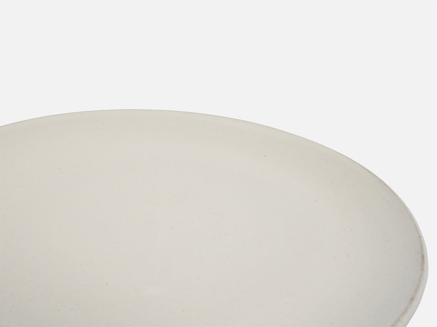 Simple Ceramic Plate // White </br>Small