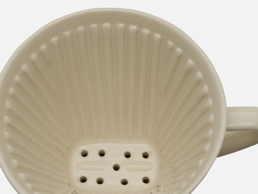 Ceramic Coffee Filter // Off-White // Big
