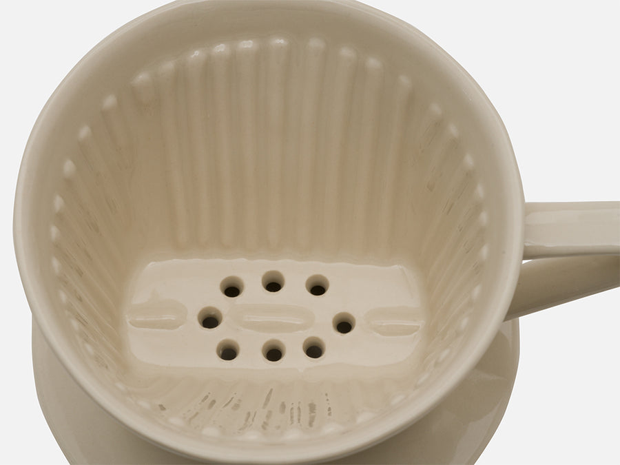 Ceramic Coffee Filter // Off-White // Small