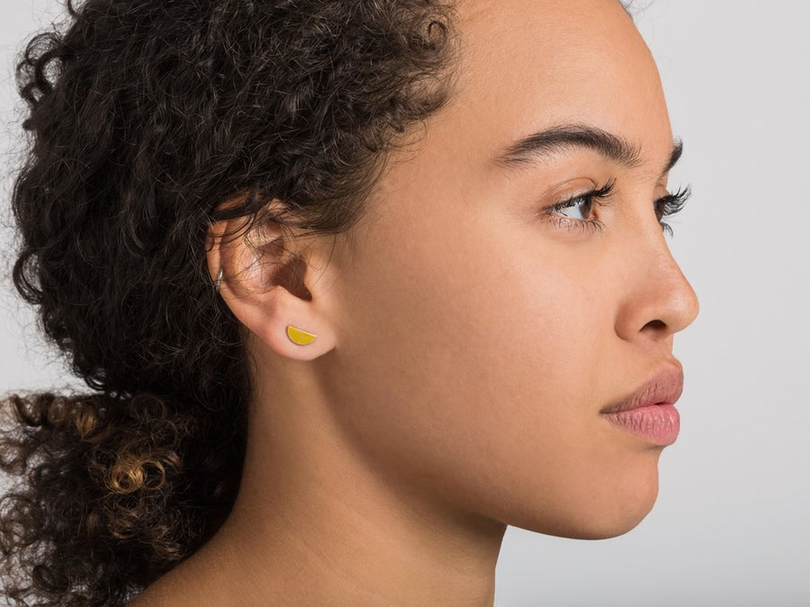 Nilay Earrings // gold <br/> FOLKDAYS N° 319