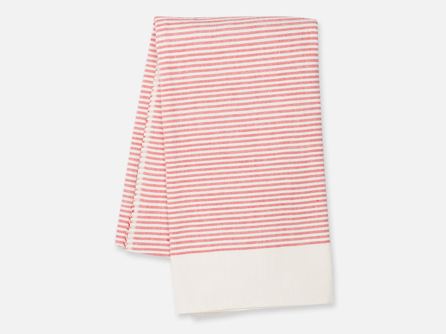 Mahika Hammam Towel // red