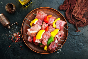 Boneless Veal Meat for Kabobs ~ 1 LB