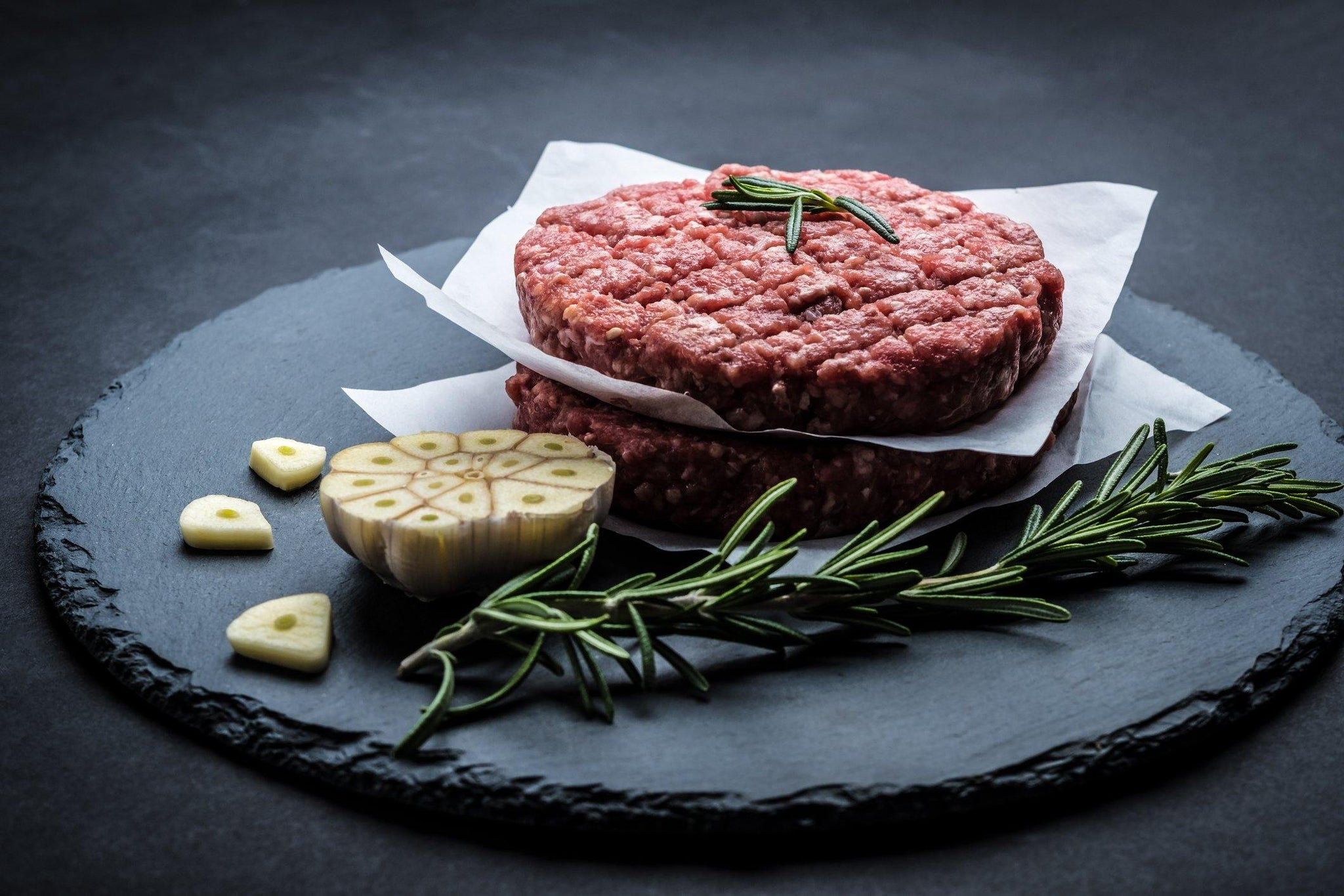 Black Angus Beef Burgers (3 Patties Per Pack)