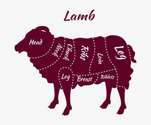 Whole Lamb Processed ~ 35 LB