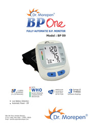 Dr.Morepen Blood Pressure Monitor BP-09