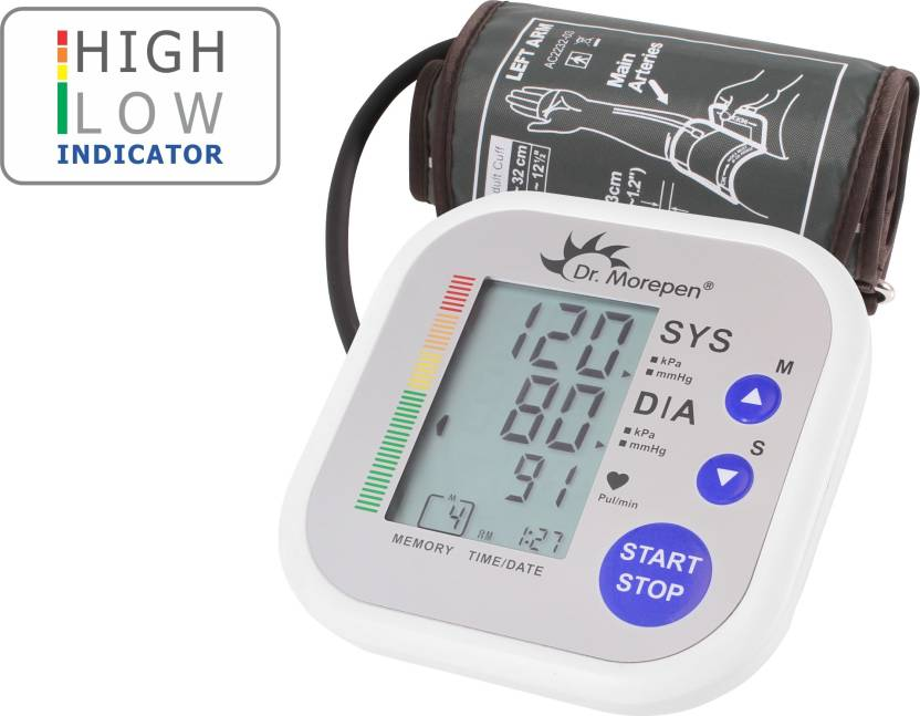 Dr.Morepen Blood Pressure Monitor BP-02