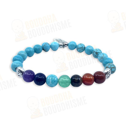 "Bracelet 7 Chakras ""Evolution Positive"" (2020)"