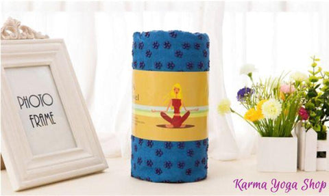 Serviette de Yoga 183 x 61 cm avec son Sac de Transport