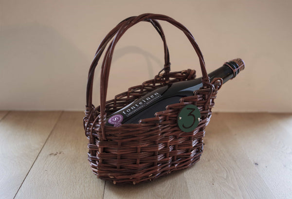 "Lambic basket ""brown willow"" (750 ml)"