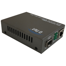 Load image into Gallery viewer, D-NET Ethernet Media Converter, Multimode Dual LC Fiber, SFP Module to 10/100/1000 Base-T (550m), (DN-10000-GBIC)