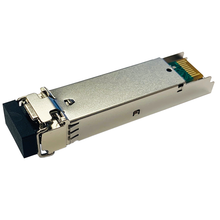 Load image into Gallery viewer, D-NET 10 Gigabit SFP+ Module Transceiver, LC Fiber Connector, Multi-Mode, 300 Meters (984 ft.), (DN-SFP+10G-SR)