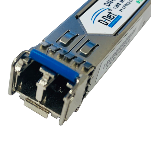 D-NET Gigabit SFP Module, LC Fiber Connector, Single-Mode, Mini-GBIC WDM, (DN-SFP-BXW)
