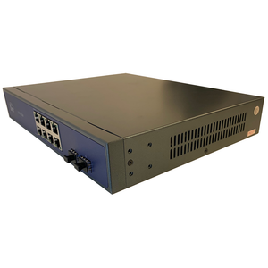 D-NET 8 PoE Port +2 SFP Port Network Switch, Commutator, PoE (DN-POE-33108PF)
