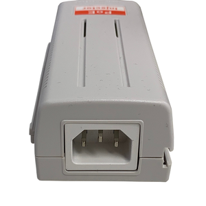 D-NET Power Over Ethernet (PoE) Injector, Powers Devices up to 100 M (328 Ft.), 60 Watts (DN-POE-1001-60W)