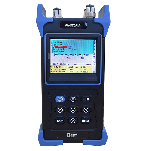 D-NET Palm OTDR 1625nm 37dB With Power Meter (DN-OTDR-A1)