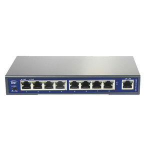 D-NET 8 PoE Port +1 UPLink Port Network Switch, Commutator, PoE (DN-POE-31008PL)