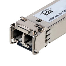 Load image into Gallery viewer, D-NET Gigabit SFP Module, LC Fiber Connector, Multi-Mode, Mini-GBIC, Up to 550 Meters (1800 ft.), (DN-SFP-SX)