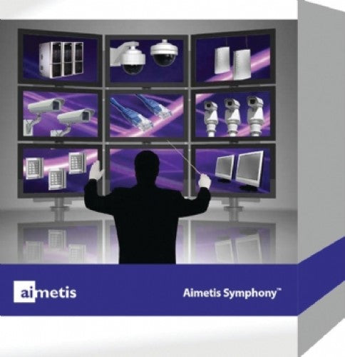 Aimetis Symphony Video Management & Analytics Software (SYM-SV-SL-S)