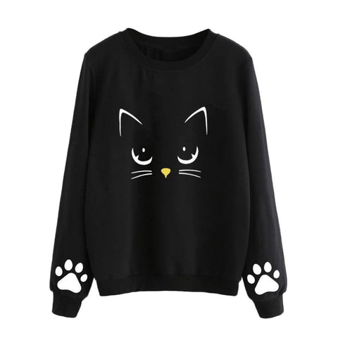 Sweat Chat Minimaliste  - Felix-le-chat