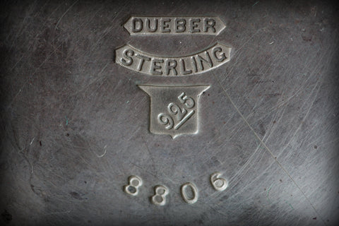 Classic DUEBER 925 Sterling Silver stamped item