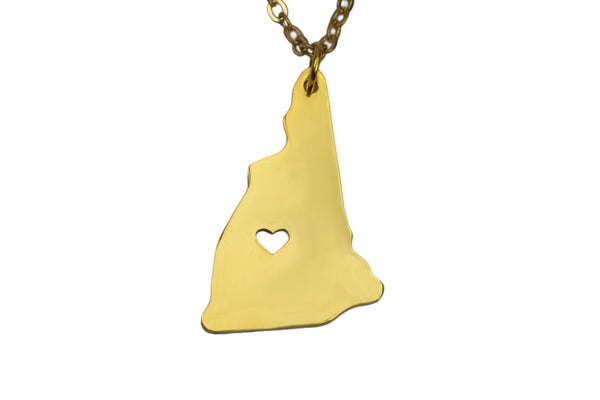 New Hampshire State Pendant