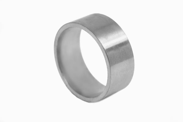 Flat Gold Band - 10mm