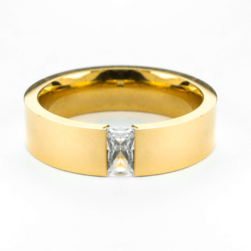 Exquisite Classic Diamond Solid Gold Ring By Jewelry Lane