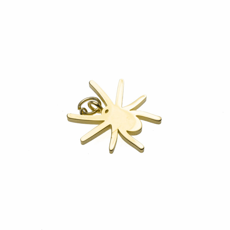 Beautiful Unique Spider Shape Solid Gold Pendant By Jewelry Lane