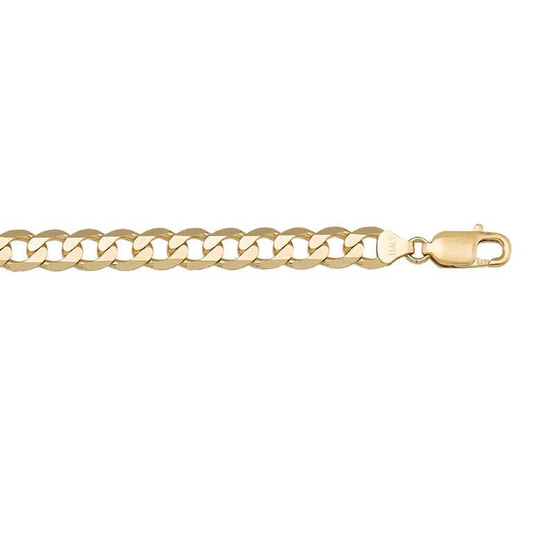 Beautiful Open Link Design Thick Solid Gold Chain By Jewelry Lane