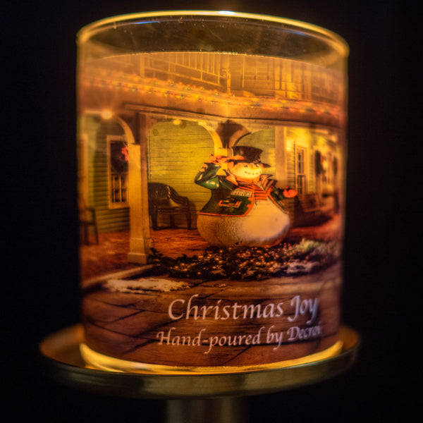 Natural Soy Candle: Christmas Joy - Decroí