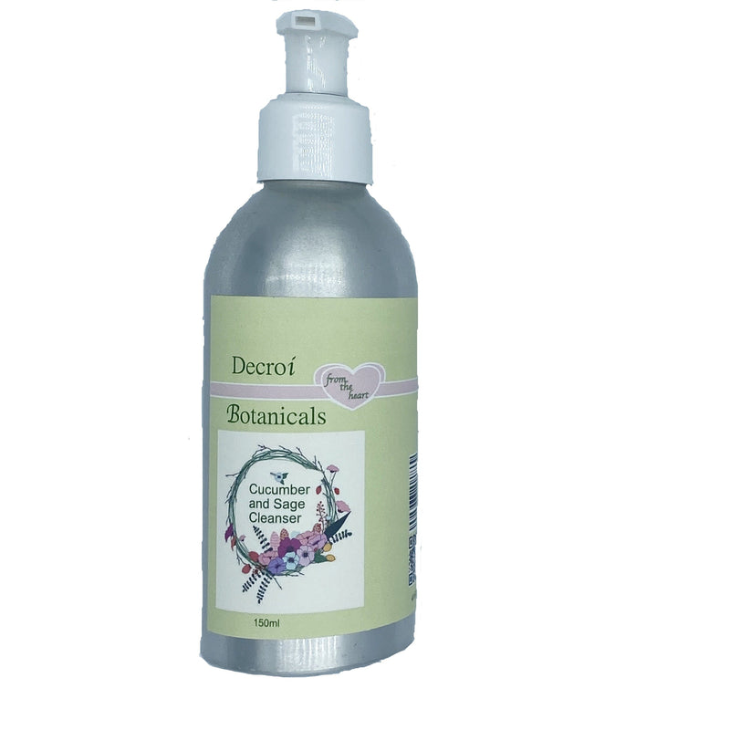 Organic cleanser cucumber and sage - Decroí