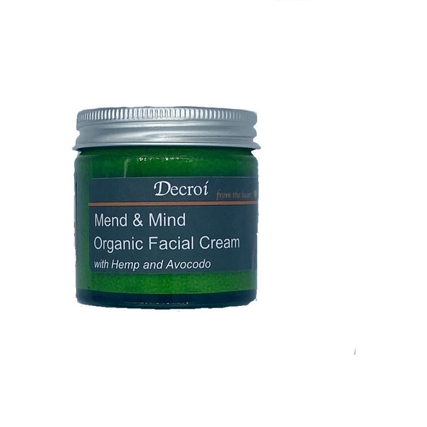 Mend & Mind Organic Facial Cream - Decroí