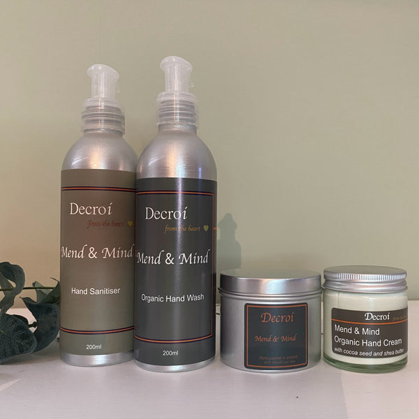 Decroí: Wellness 'Mend and Mind' Hand Care Gift Set