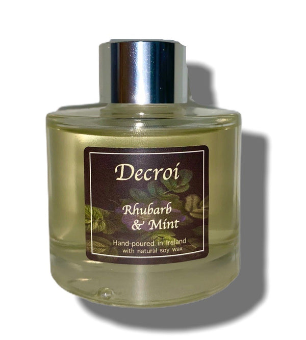 Rhubarb and Mint Diffuser - Decroí