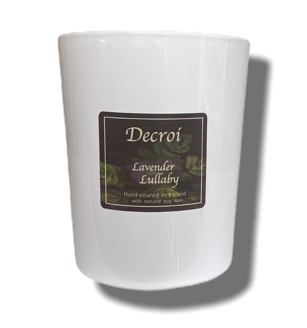 Natural Soy Candle: Lavender Lullaby - Decroí